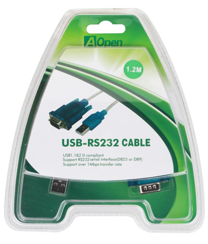 Кабель-адаптер USB 2.0 AM-COM 9pin Aopen ACU804 кабель адаптер usb am