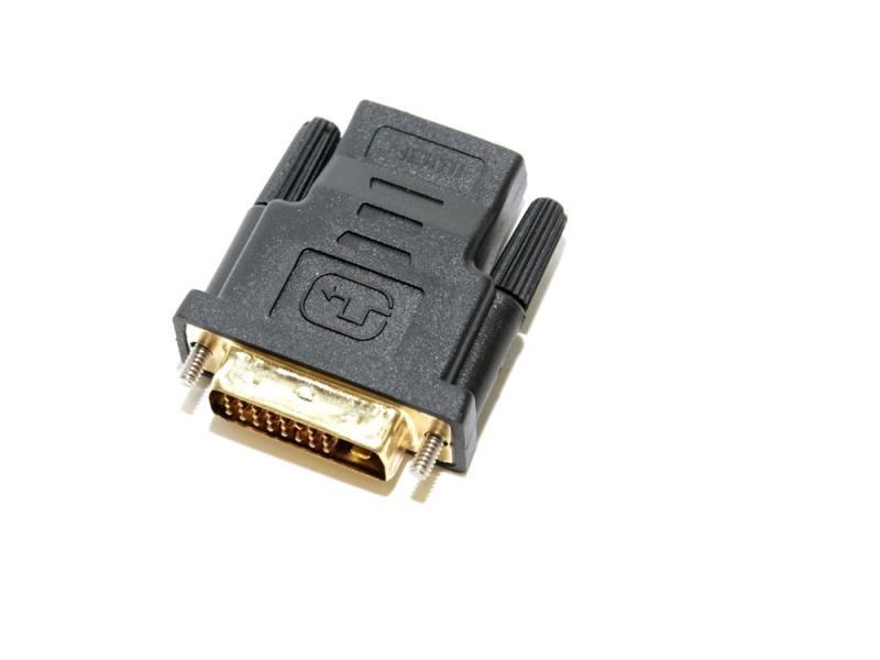 Фото - Переходник HDMI- DVI-D 5bites DH1803G позолоченные контакты переходник hdmi 5bites ha1005 г образный черный