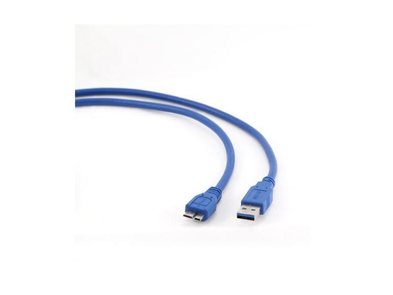 Кабель USB 3.0 AM-microBM 0.5м 9pin синий Gembird CCP-mUSB3-AMBM-0.5M jack london the red one