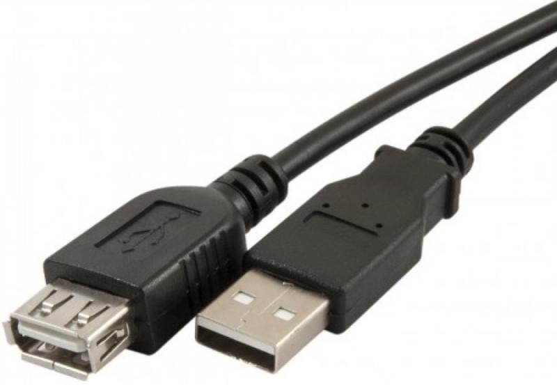 Картинка для Кабель USB 2.0 AM-AF 1м Perfeo U4502