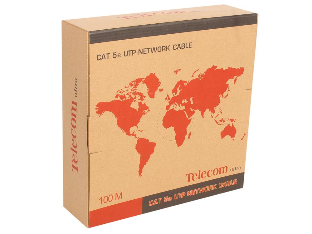 Фото - Кабель Telecom Ultra FTP 4 пары кат.5е (бухта 100м) p/n: (TFS44150E) блузка женская oodji ultra цвет коричневый терракотовый 14201014 14675 3731e размер xxs 40