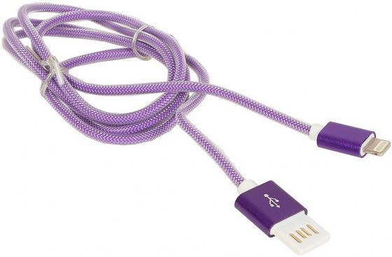 Кабель USB 2.0 AM-microBM 1м Gembird фиолетовый CC-mUSBDS-6 кабель usb gembird 2 0 ccb musbp 1м ccb musbp1m