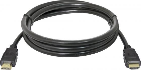 Фото - Кабель HDMI Defender HDMI-05 87351 черный, 1.5 м, v1.4 кабель belkin hdmi папа hdmi папа 5 м