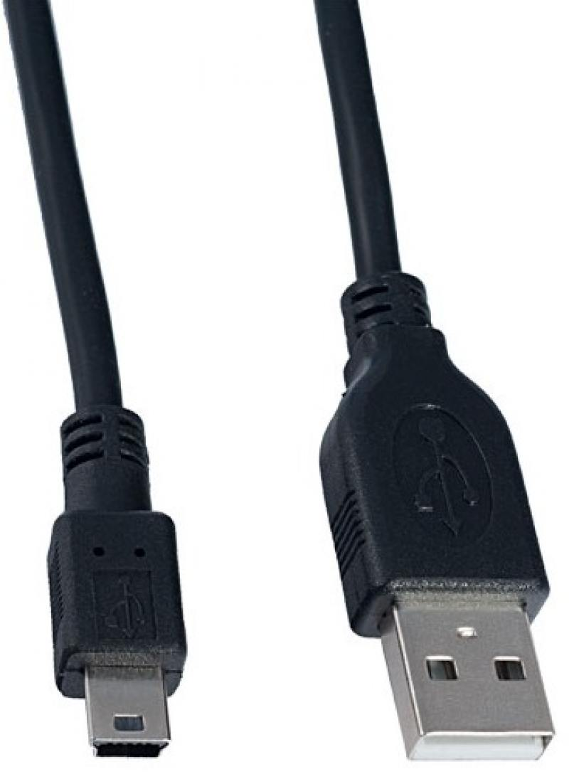 Картинка для Кабель USB 2.0 AF-miniBF 3м Perfeo U4303