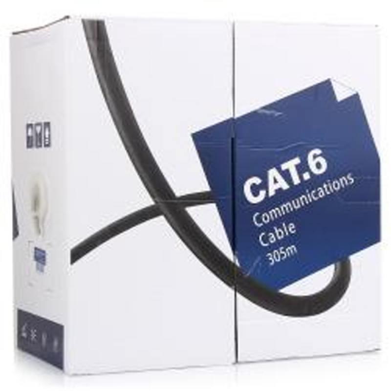 Кабель 5bites LIGHT US6400-305A, UTP, 4 пары, одножильный (solid), кат. 6, (0,40 mm), CCA, 305m кабель акустический в нарезку supra rondo bi wire 4 x 4 mm