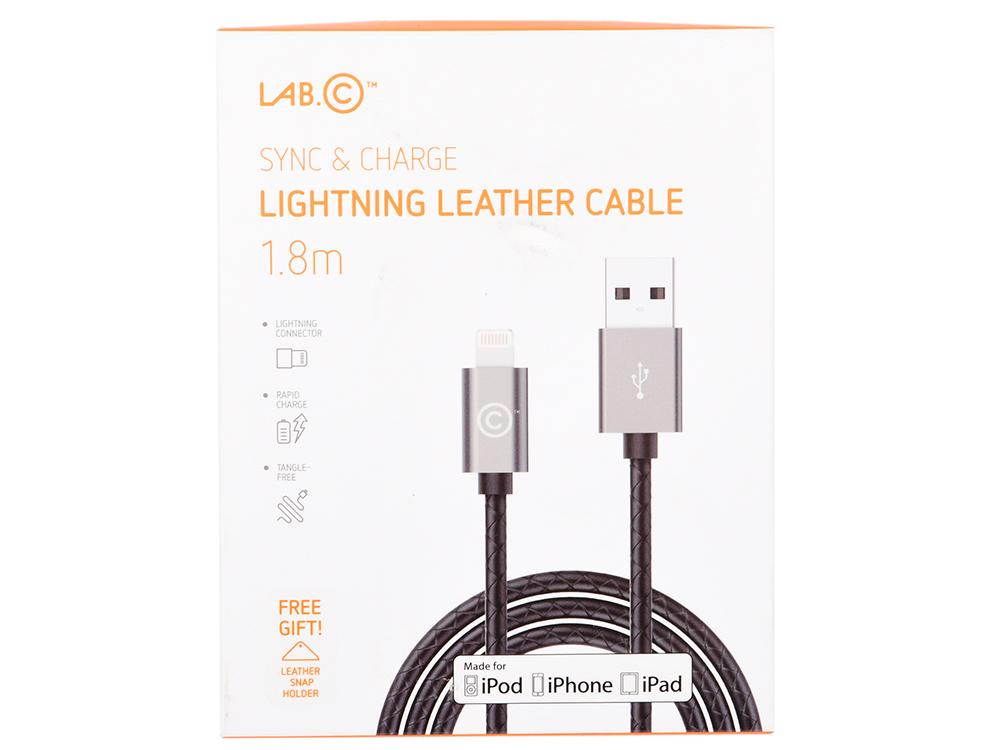Фото - Кабель LAB.C USB-Lightning 1.8м серый LABC-511-GR кабель