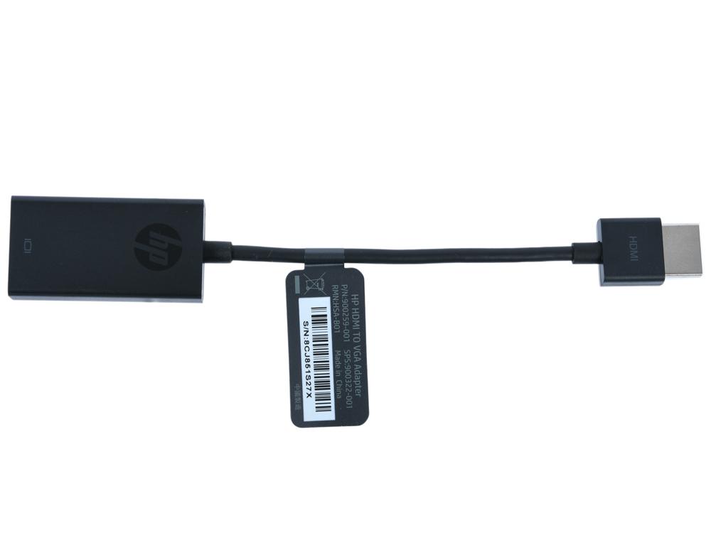 Фото - Переходник HDMI - VGA HP X1B84AA черный переходник красный