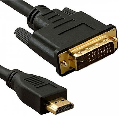 Фото - Кабель HDMI - DVI 5bites APC-073-030 3 м ферритовые кольца кабель