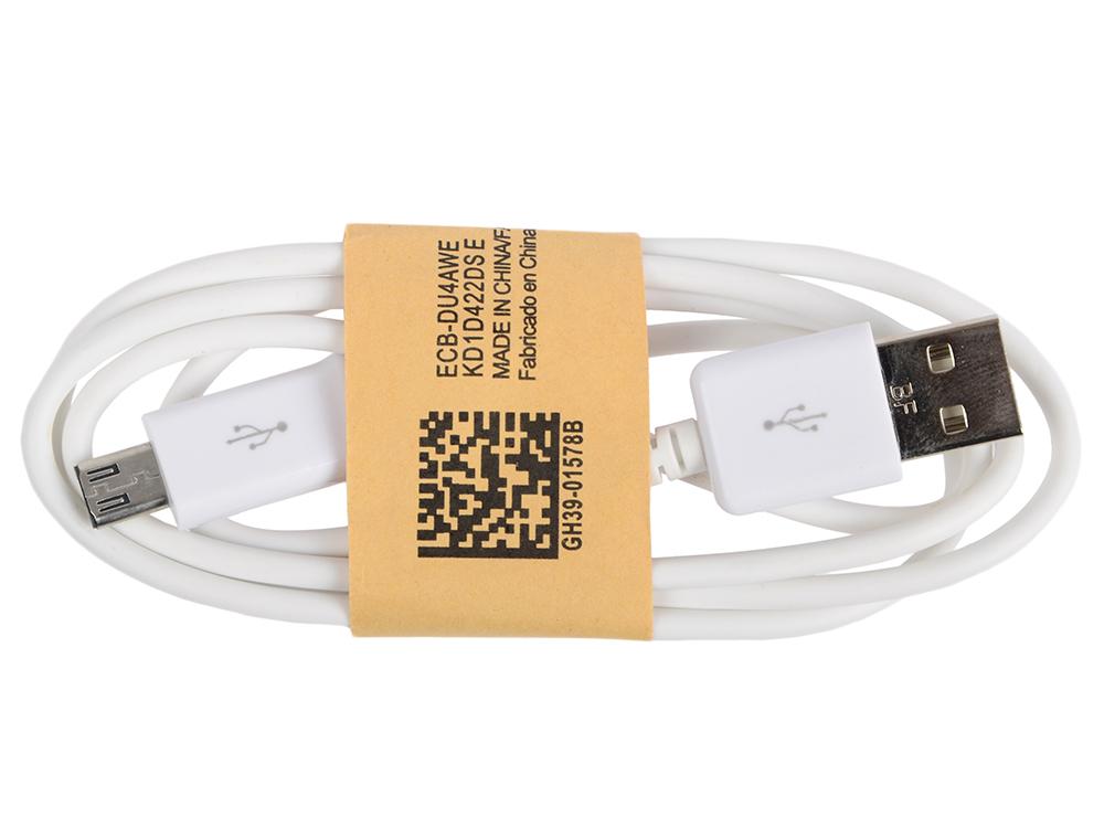 Кабель MicroUSB-USB Ritmix RCC-110 White для синхронизации/зарядки, 1м кабель ritmix rcc 412 microusb usb 1 м brown