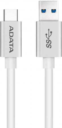Кабель A-Data Type-C - USB3.1 1м белый ACA3AL-100CM-CSV