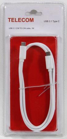 Кабель USB 3.1 СM-СM 1м VCOM TC400_B