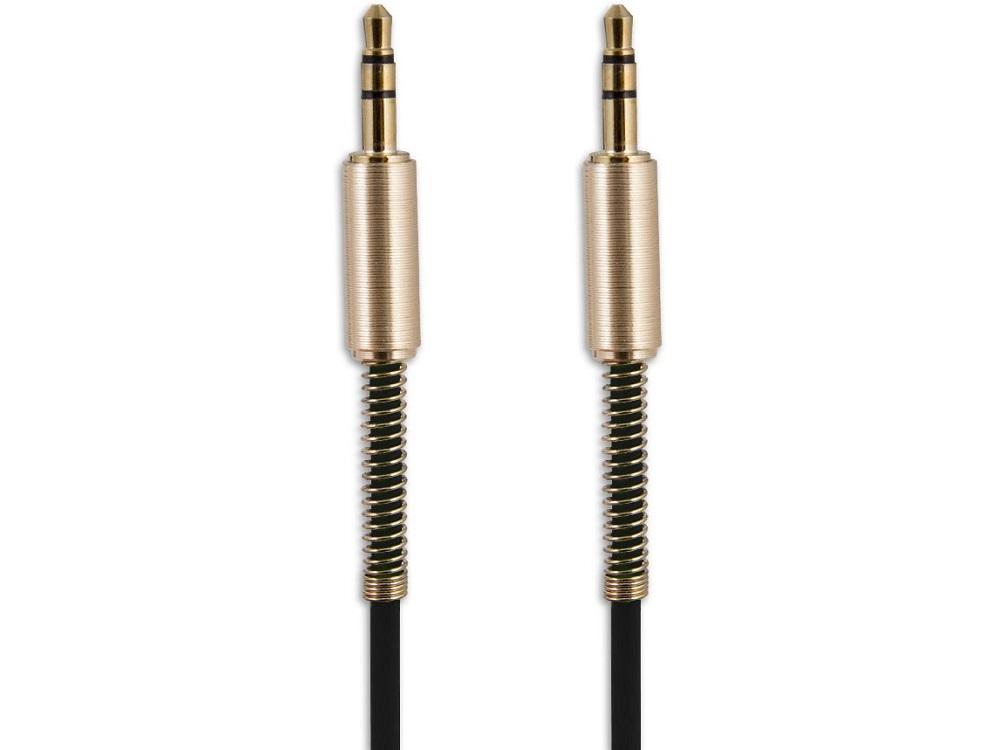 Аудиокабель Jack 3.5 mm - Jack 3.5 mm Belsis BS3012, 1 м, черный, стерео цена и фото