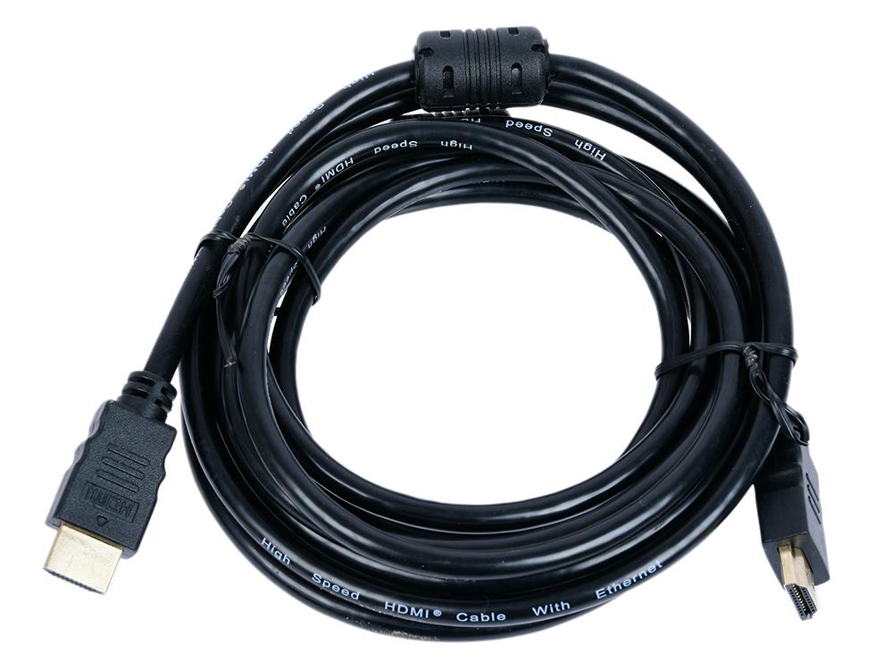 Фото - Кабель HDMI Telecom TCG200F-3M ver 2.0+3D/Ethernet, 2 фильтра, 3 м кабель