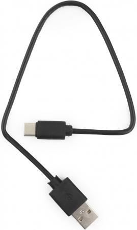 Фото - Кабель Type-C Гарнизон GCC-USB2-AMCM-0.3M круглый черный кабель usb 2 0 am af 0 5м гарнизон gcc usb2 amaf 0 5m