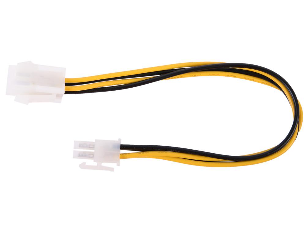 Удлинитель кабеля питания материнской платы +12V 4M-4F , 20см Telecom EXT-4M-4F-20SM
