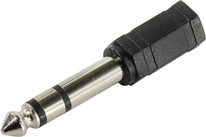 Переходник аудио 6.3мм M (штекер) - 3.5мм F (гнездо) Telecom TA1950 переходник usb на 3 5 аудио