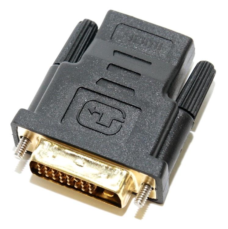 лучшая цена Переходник HDMI F - DVI M Orient C485