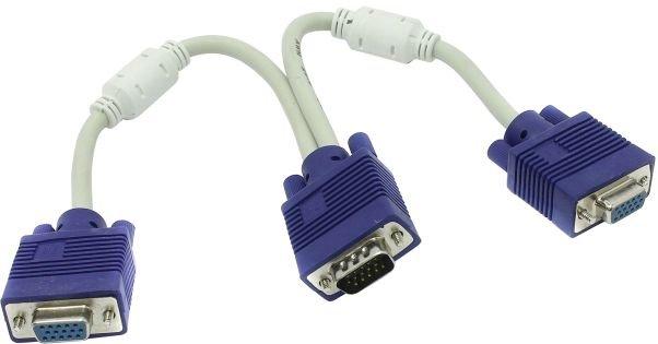 Разветвитель VGA -2xVGA Espada EVGAM2xVGAF25 недорого