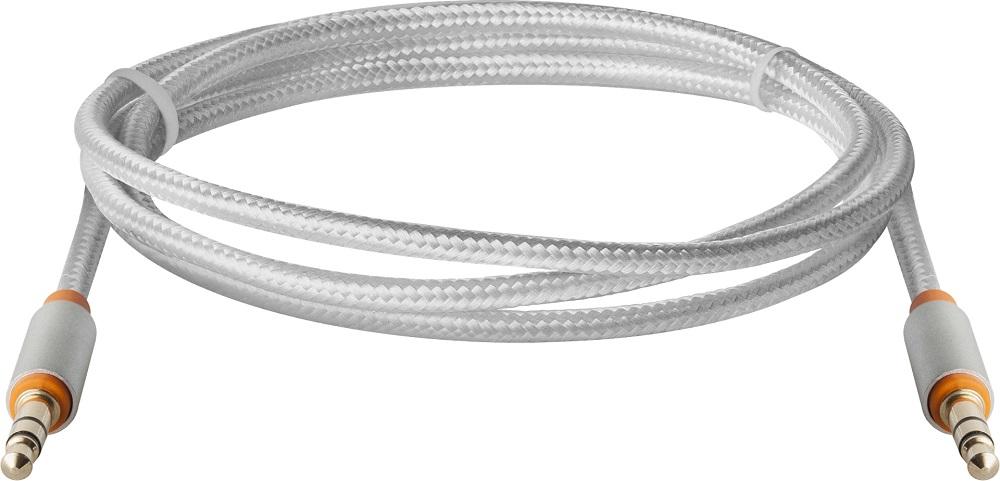 Аудиокабель Defender JACK01-03 Белый 1,2 м, Jack 3.5 - Jack 3.5 defender аудио кабель jack01 03 белый jack m jack m 1 2м 87513