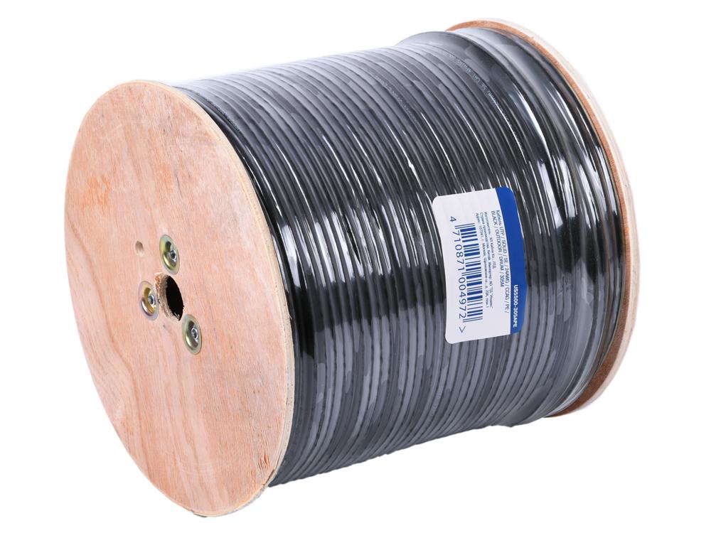 Кабель 5bites LIGHT US5500-305APE, UTP, 4 пары, одножильный (solid), кат. 5e, (0,50 mm), CCAG, 305m, для внешней прокладки, на деревянной катушке все цены