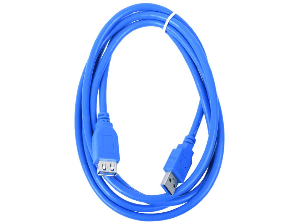 Фото - Кабель удлинительный USB3.0 Am-Af 1.8m Aopen (ACU302-1.8M) кабель удлинительный usb 2 0 am af 1 8м sven sv 004569