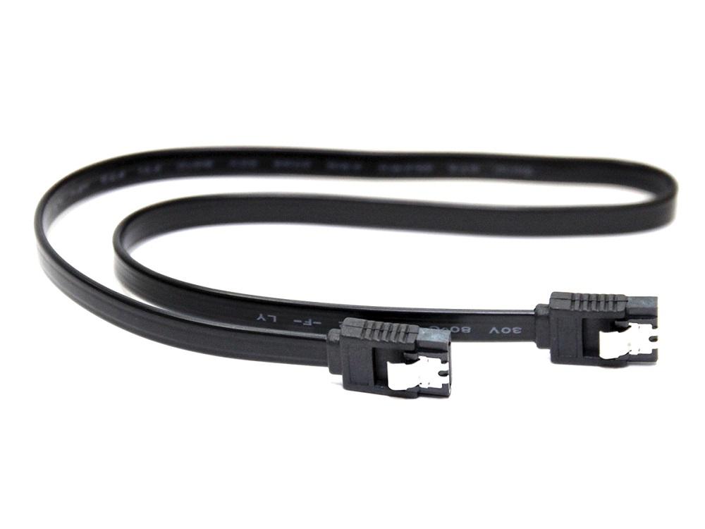 Фото - Кабель SATA 5bites SATA2-750S-BK, V2.0 / 0.5 м / Black головка sata 34840