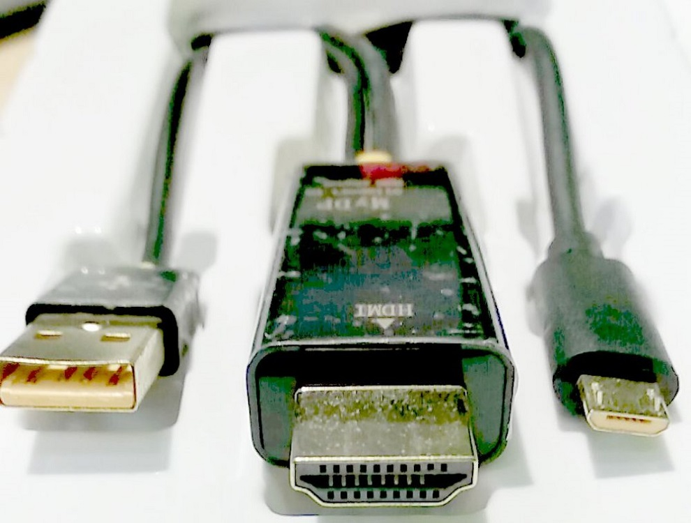 Кабель-адаптер MHL 2.0m microB 5pin + AM в HDMI 2.0 Greenconnect GCR-51151 кабель greenconnect gcr tpc4p4 gcr 50963 черный