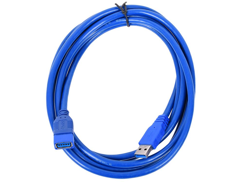 Фото - Кабель удлинительный USB3.0 Am-Af Telecom TUS706-3M 3 м кабель удлинительный usb 2 0 am af 1 8м konoos позолоченные контакты с ферритовыми кольцами