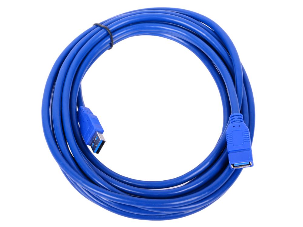 цены Кабель удлинительный USB3.0 Am-Af 5m, Telecom TUS706-5M