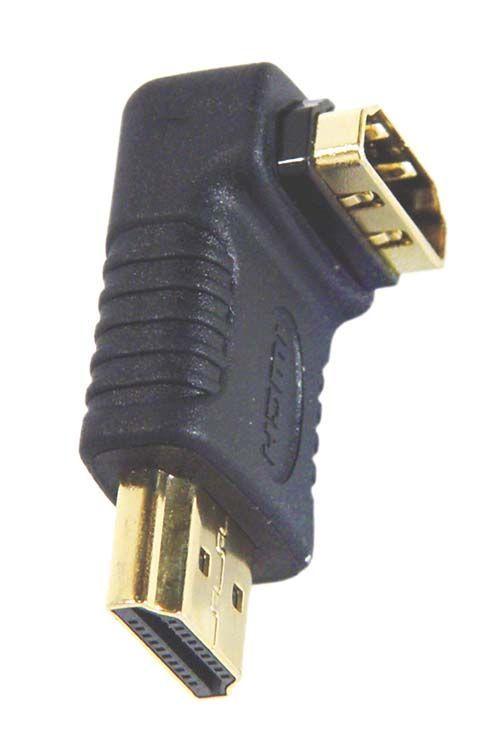 Адаптер (переходник) угловой HDMI розетка / HDMI вилка, Belsis BW3336