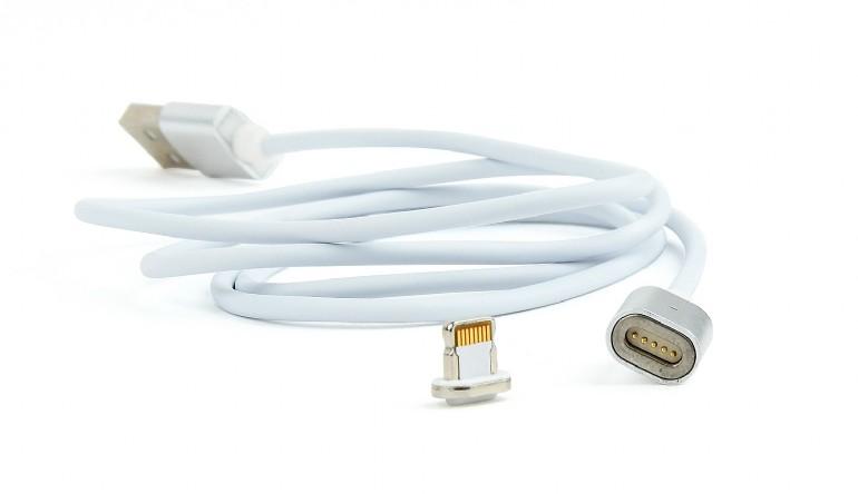 цена на Кабель Lightning Cablexpert CC-USB2-AMLMM-1M, магнитный кабель, 1 м, алюминиевые разъемы