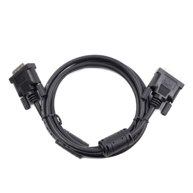 лучшая цена Кабель DVI-D single link Cablexpert CC-DVI-BK-10, 19M/19M, 3.0м, черный, экран, феррит.кольца, пакет