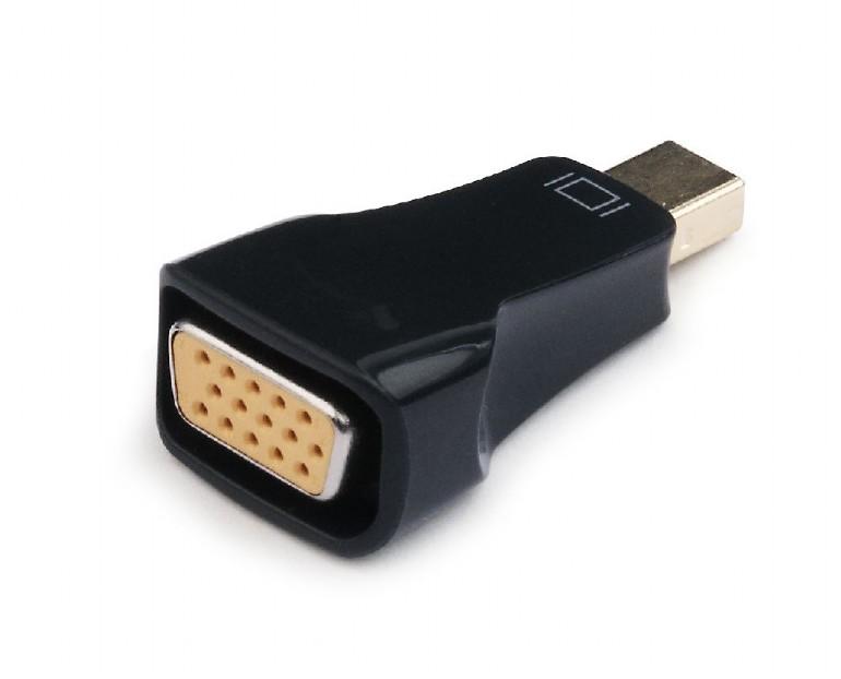 Переходник miniDisplayPort - VGA, Cablexpert A-mDPM-VGAF-01, 20M/15F, черный