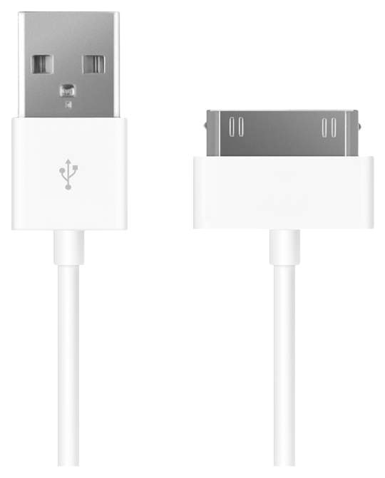 Фото - Кабель Prime Line 7200 30-pin для Apple, 1,2 м., белый кабель fujipower белый