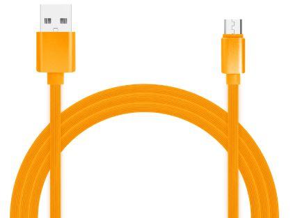 Фото - Кабель для зарядки и передачи данных Jet.A JA-DC24 1м оранжевый (TPE,USB2.0/micro USB, QC 3.0, 2A) albert schweitzer kultuur ja eetika