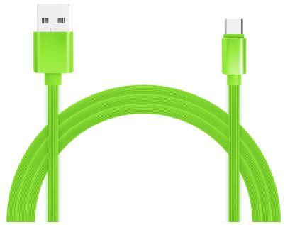 Фото - Кабель для зарядки и передачи данных Jet.A JA-DC34 1м зелёный (TPE, USB2.0/USB Type C, QC 3.0, 2A) albert schweitzer kultuur ja eetika