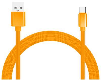 Фото - Кабель для зарядки и передачи данных Jet.A JA-DC34 1м оранжевый (TPE, USB2.0/USB Type C, QC 3.0, 2A) albert schweitzer kultuur ja eetika