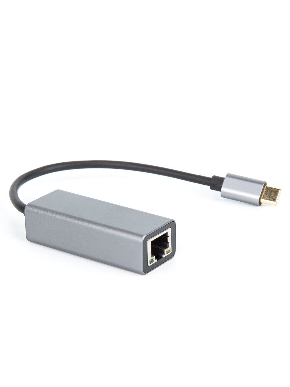 Фото - Переходник USB Type-C - RJ-45 VCOM DU320M, 0.15 м 1000Mbps переходник usb type c displayport lenovo 4x90q93303