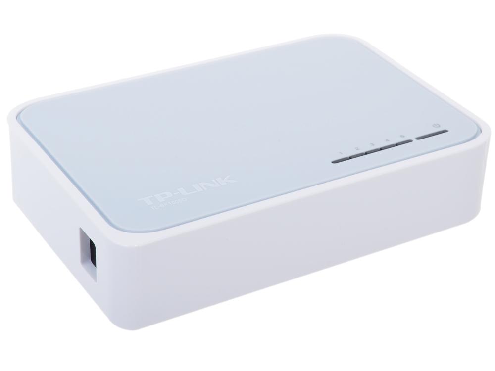все цены на Коммутатор TP-LINK TL-SF1005D 5-портовый 10/100 Мбит/с настольный коммутатор онлайн