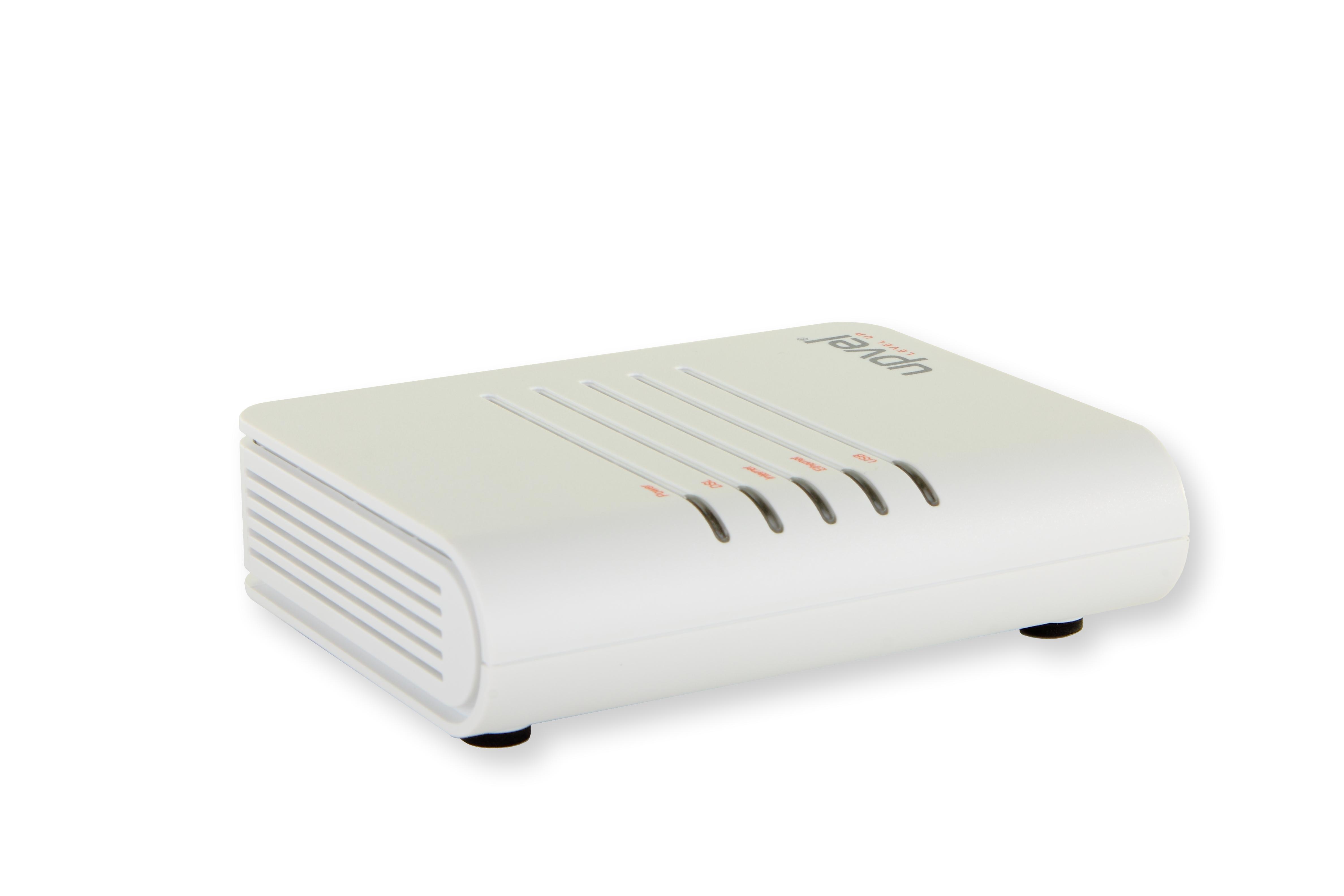 лучшая цена Модем UPVEL UR-101AU ADSL/ADSL2+ роутер с одним портом LAN и портом USB с поддержкой IP-TV