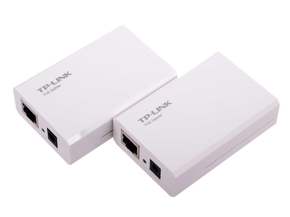Набор PoE адаптеров TP-LINK TL-POE200 инжектор + сплиттер, до 100м tp link tl r470t