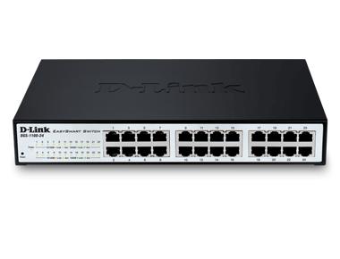 Коммутатор D-Link DGS-1100-24/ME/B2A Настраиваемый коммутатор 2 уровня с 24 портами 10/100/1000Base-T