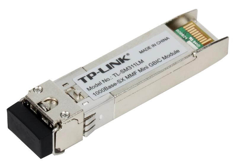 цена на Модуль SFP TP-LINK TL-SM311LM Gigabit SFP module, Multi-mode, MiniGBIC, LC interface, Up to 550/275m distance