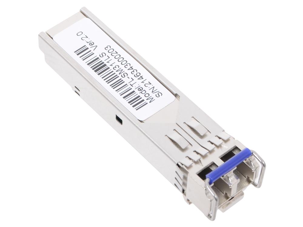 цена на Модуль SFP TP-LINK TL-SM311LS Gigabit SFP module, Single-mode, MiniGBIC, LC interface, Up to 10km distance