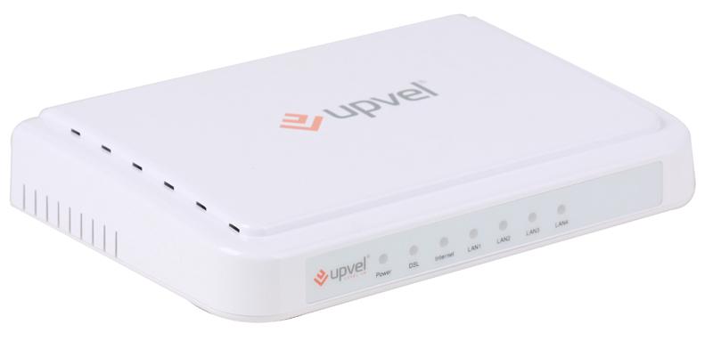 Модем UPVEL UR-104AN ADSL2+ роутер с 4 портами Ethernet 10/100 Мбит/с с поддержкой IP-TV цена