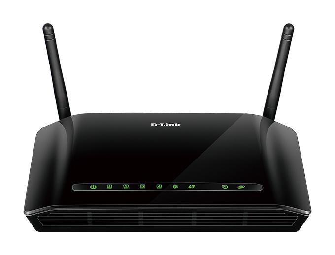 Маршрутизатор D-Link DSL-2740U/RA/U1A Беспроводной маршрутизатор ADSL2+ с поддержкой Ethernet WAN беспроводной маршрутизатор adsl keenetic dsl 802 11bgn 300mbps 2 4 ггц 4xlan usb серый kn 2010