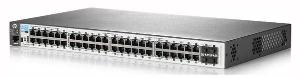 Коммутатор HP 2530-48 (J9781A) Управляемый коммутатор Layer 2 с 48 портами 10/100, 2 портами 10/100/1000 и 2 разъемами GbE SFP