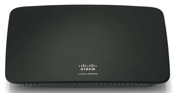 Коммутатор Linksys SE2800-EU 8-Port Gigabit Ethernet