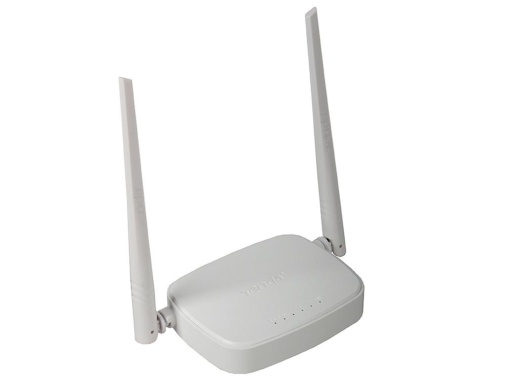 Маршрутизатор Tenda N301 2T2R Wireless-N Broadband Router huawei hg532d 300mbs adsl2 wireless router broadband cat machine dual antenna