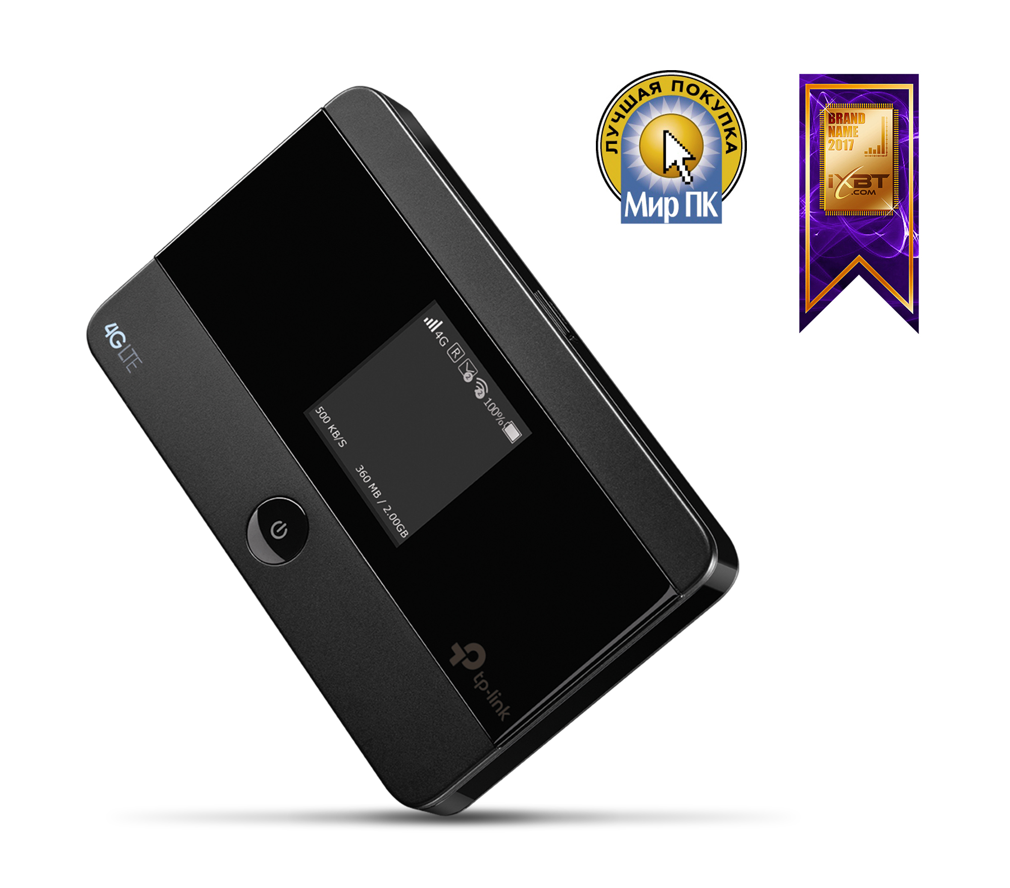 цена на Маршрутизатор TP-LINK M7350 Мобильный беспроводной LTE-Advanced маршрутизатор